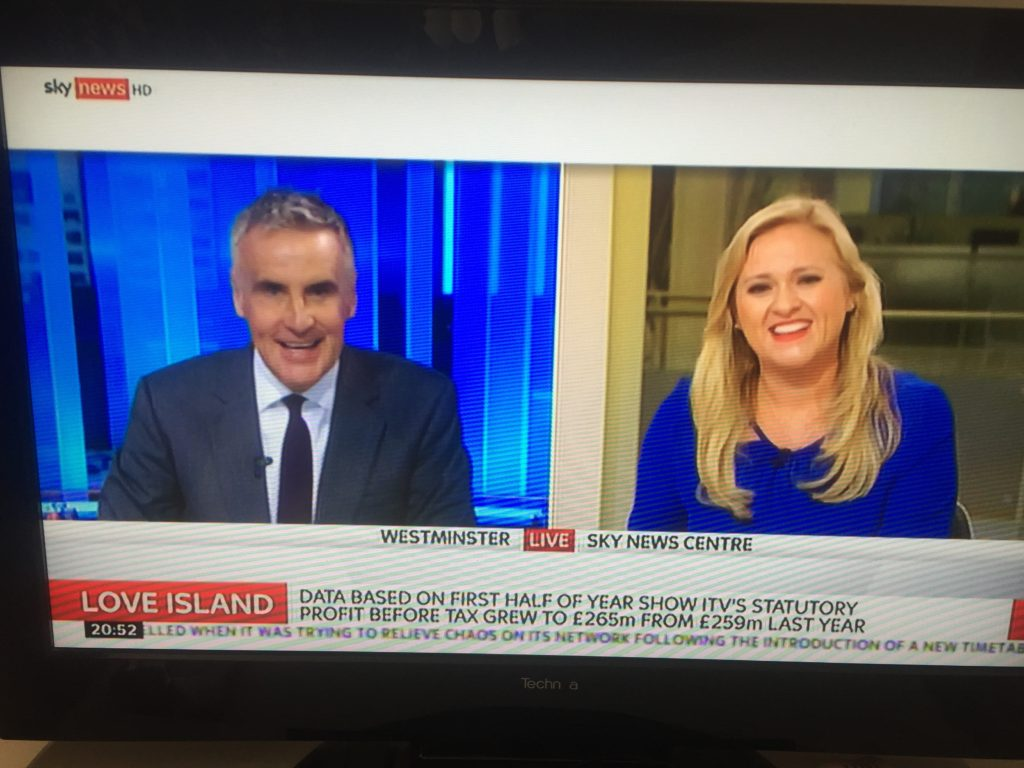 SKY News with Dermot Murngahan